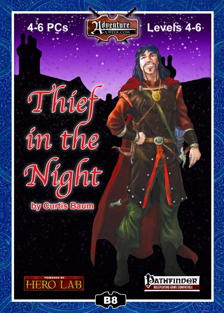 Pathfinder module by Curtis Baum Thief in the Night