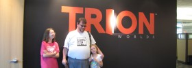 Lord Rcane and gamer spawn at Trion Worlds, Inc.