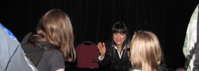 Kelly Hu interview at Salt Lake Fan Xperience Comic Con